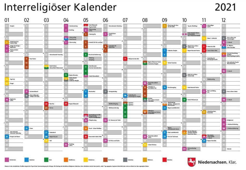 Kalender Für 2021